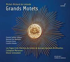 Michel-Richard De Lalande: Grands Motets - Les Pages & Les Chantres Du  (NEW CD)
