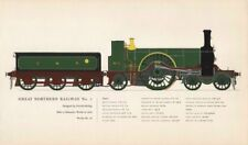 Great Northern Railway #1 locomotive Patrick Stirling 1870 Doncaster 1958