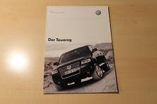 01714) VW Touareg - Preise & Extras - Prospekt 11/2002