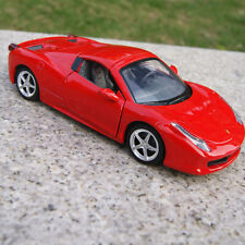 Ferrari 458 Model Cars 1:32 Sound & Light Alloy Diecast Kids GiftsNew Red Toys