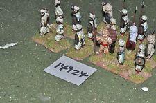 25mm medieval / turkish - seljuk infantry 15 figs - inf (14924)