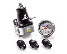 Aeromotive 13130 Fuel Regulator & Fitting Kit (13129 & 3x15606 & 15633 Gauge)