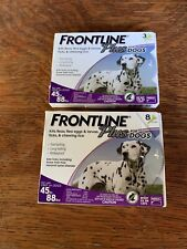 Frontline Plus for Dogs (45-88lbs) Flea&Tick Treatment Control, 11 Doses