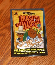 Masters of Illusion Sticker Postcard 2000 Promo 6x4 Kutmasta Kurt