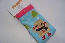 Gymboree Winter Cheer Socks Girls Size 0-6 Months Gingerbread Girl  NEW