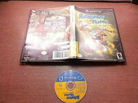 Nintendo GameCube NGC Disc Case No Manual Tested Looney Tunes Back in Action