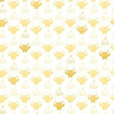 Minions WHITE YELLOW KEVIN TONAL BLENDER 100% cotton fabric by the yard