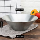 304 stainless steel noodle bowl matte drawing,Silver-28cm
