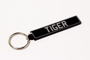 Sunbeam Tiger Keyring - British UK Number Plate Classic Car Keytag / Keyfob