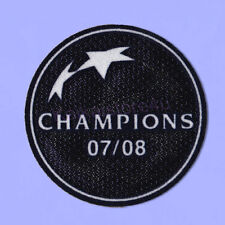 UEFA Champions League Winner 2008-2009 Manchester United Sleeve Soccer Patch