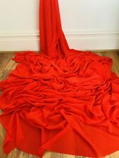 Red Crepe Georgette Fabric 58'' PRICE PER METER
