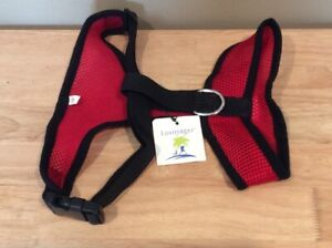 Lovoyager XL Red Mesh Harness Lightweight Harness