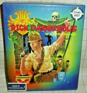Rick Dangerous The Adventure Starts Here PC Game CIB - Tested & Works Firebird
