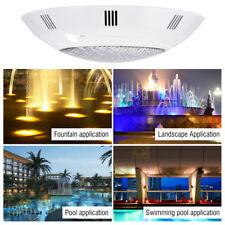 12V 360 LED RGB Unterwasser Farbig Licht Brunnen Pool Lampe mit Fernbedienung