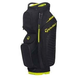 TaylorMade Cart Lite Cart Bag 2020 - Black and Lime