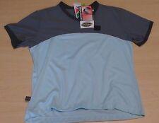 Cannondale Women's Small BIKE JERSEY Aqua Blue & Gray NWT Urban NEW Shirt NOS c