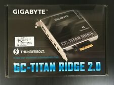 GIGABYTE GC-TITAN RIDGE 2.0 Thunderbolt3 Certified PCI-E Expansion card