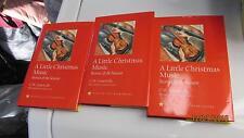 3 Hardback Book Dj A Little Christmas Music Stories of The Seasons 1st Edition's