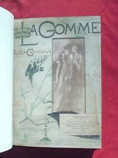 Félicien Champsaur, La gomme