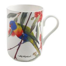 Maxwell & Williams Porzellan Becher Kaffee Tasse Breitbindenlori 350 ml