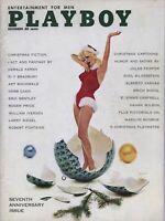 PLAYBOY DECEMBER 1960 Teddi Smith Carol Eden Marilyn Monroe Linda Vargas (2)