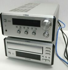 New listing Yamaha PianoCraft Rx-E400 Mini Stereo Receiver + Cdc-E500 3-disc player System