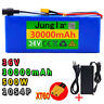 36V 30Ah Lithium li-ion Battery Pack 500W ebike Bicycle Electric charger BMS Sco