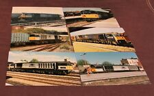 Job Lot of Colour 7x5 Diesel and Electric Locomotive Train Photographs