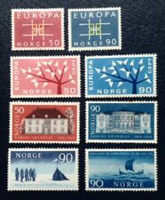 Norway collection of mint stamps from the 60's
