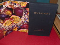 [ART & PUBLICITE] PHOTOBOOK GUIDO MOCAFICO / BULGARI Bijoux Superbe album ! 2010