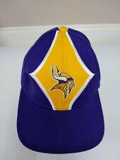 Starter Minnesota Vikings Adjustable Hat Cap Vintage Purple Yellow