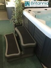 Hot Tub Eco Safety Steps 2 Tier in GREY Hot Tub Spa