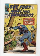Marvel Comic Sgt Fury and His Howling Commandos #39 1967 The Fortress of Fear