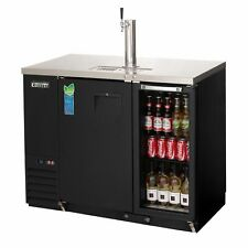 Everest Ebds2 Bbg 24 49 Back Bar Amp Direct Draw Keg Refrigerator Combo 1 Keg