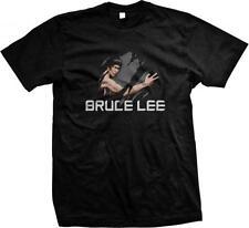 Bruce Lee Martial Artist Action Movie Star Mens T-shirt