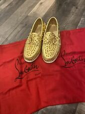 Christian Louboutin Spiked Loafers Flats 39