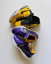 Kobe 4 Protro Undefeated Los Angeles Lakers Size 10.5 100% Authentic Purple Gold