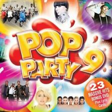 POP PARTY 9 [CD+DVD] Katy Perry*Lady Gaga*LMFAO*Pixie Lott*Rihanna*Bruno Mars