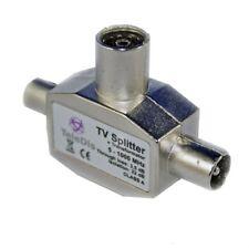 TV Splitter Y-Verteiler 5-1000MHz *neu* Signalverteiler Fernsehverteiler