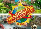 Two E tickets Chessington Monday 25th October School Holidays Emailed To You