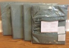 NEW 4PC Pottery Barn Torrey Outdoor Square Arm Dining Chair Cushion Cover SPA