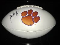 Kelly Bryant Signed Autograph Clemson Tigers Logo Football JSA
