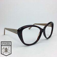 54da0a2f21c KAREN MILLEN eyeglass TORTOISE   MOCHA CATSEYE frame Authentic. MOD   25634365