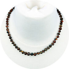 Amber Necklace Adult - Women, Mom, Men - Baltic Green Color - 18 Inch - USA Ship