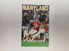 University of Maryland 1987 Football NCAA College Pocket Schedule (RK)