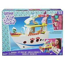 Hasbro Littlest Pet Shop LPS Cruise Ship Series 1 w/ 3 Pets C1159 Ages 4+ NEW