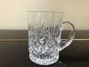 Lovely Crystal Half Pint Tankard - Very good quality - lovely condition