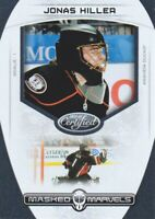2011-12 Certified Masked Marvels #18 Jonas Hiller Anaheim Ducks