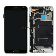 Black For Samsung Note 3 Ⅲ N900T T-Mobile LCD Touch Screen Digitizer + Frame