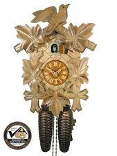 Schwarzwälder Kuckucks-Uhr/Schwarzwald-Haus 8-Tage Eiche Nest Kukuks-Uhr Holz